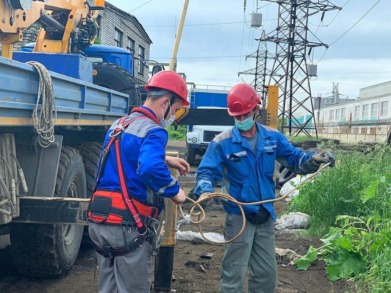 Ярославские энергетики «Россети Центр» устранили повреждение воздушной линии 110кВ