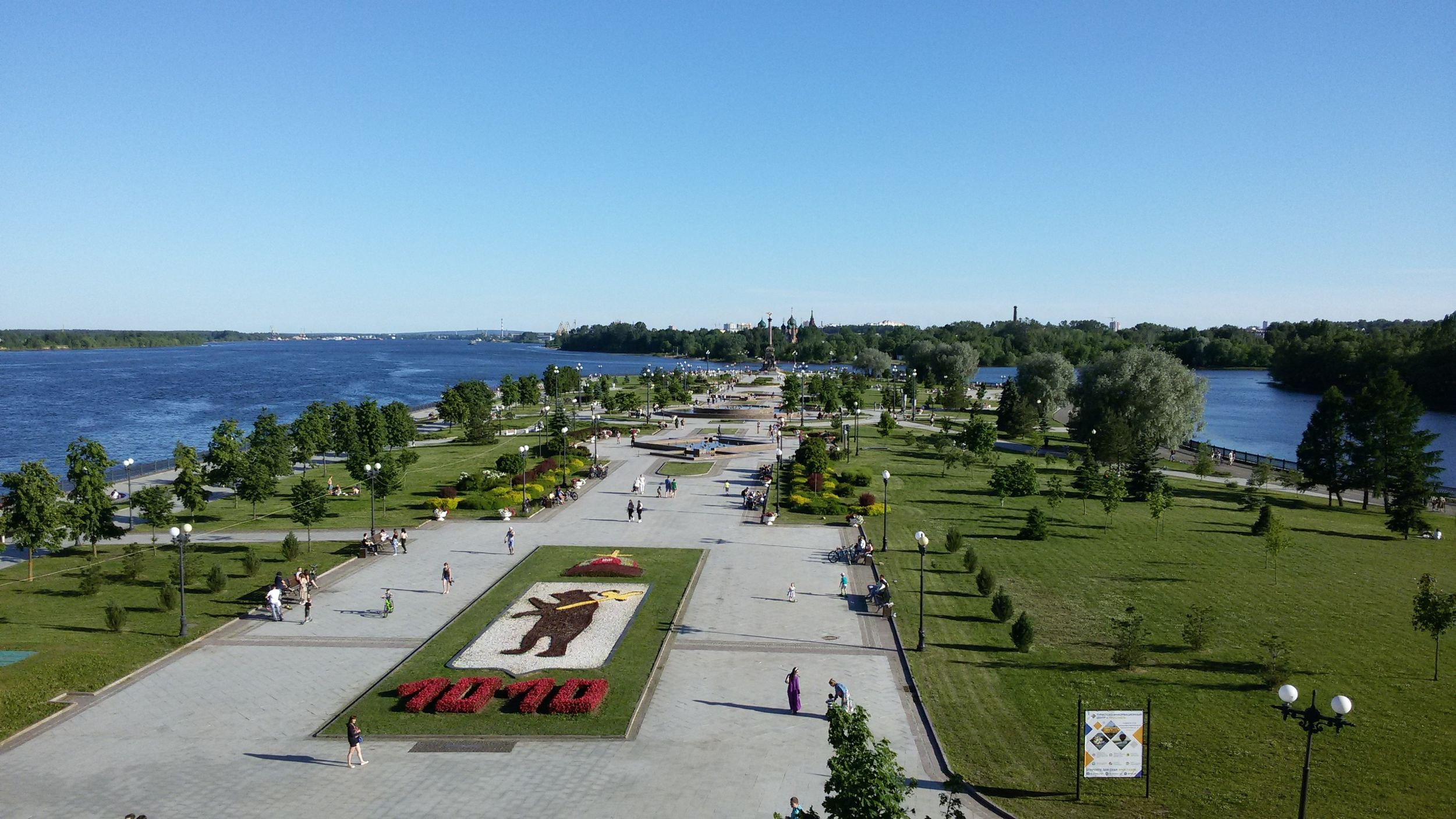 Начало сезона фонтанов в Ярославле откладывается из-за коронавируса