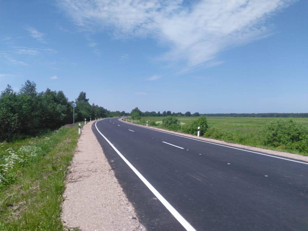 Завершен ремонт областной дороги Углич – Воскресенское