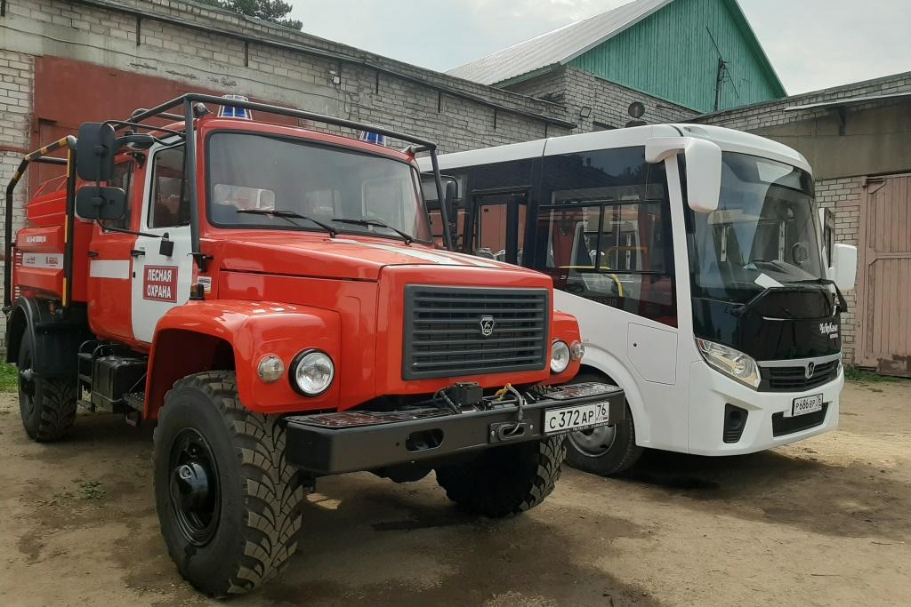 В Ярославской области обновили парк лесопожарной техники