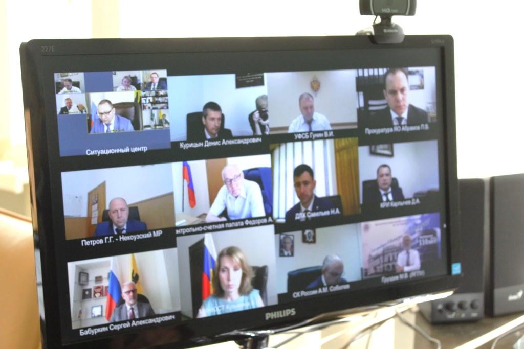 Итоги работы по противодействию коррупции обсудили в режиме видеоконференции