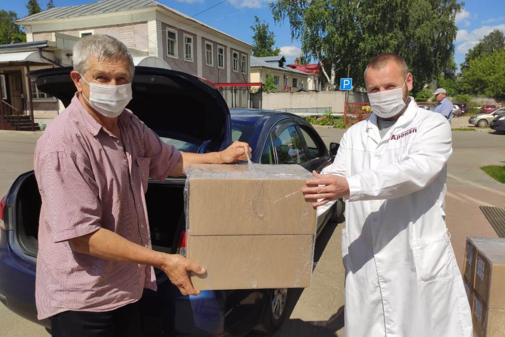 Производитель средств индивидуальной защиты передал маски в ярославские районные дома-интернаты