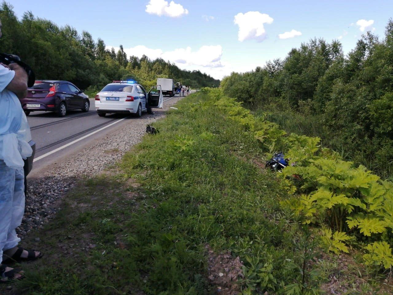 В Ярославской области мотоциклист погиб при столкновении с «Газелью»