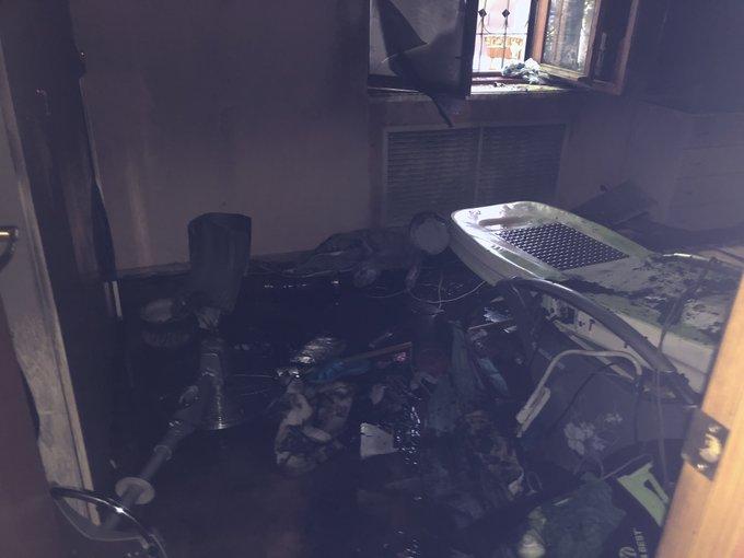 В Ярославле на пожаре погибла женщина
