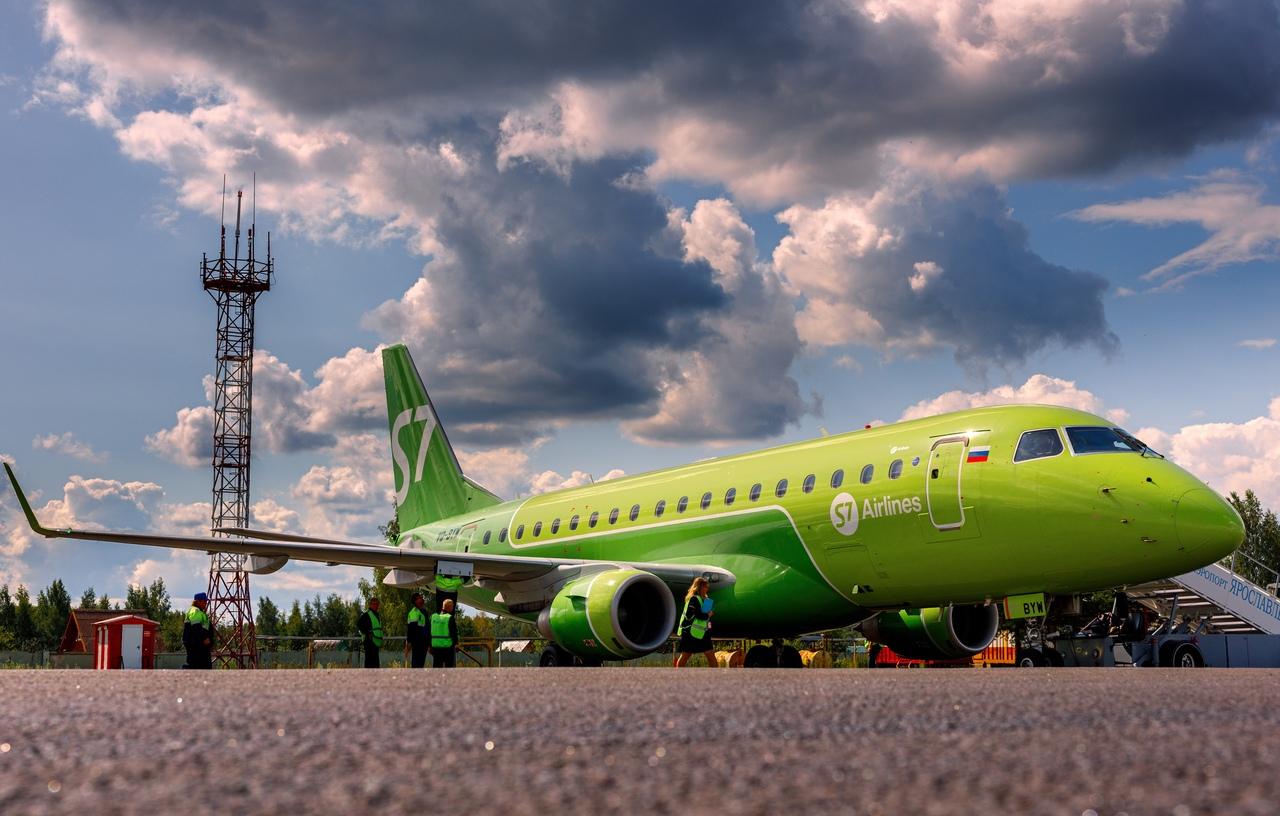 Туношна возобновляет авиарейсы между Ярославлем и Санкт-Петербургом