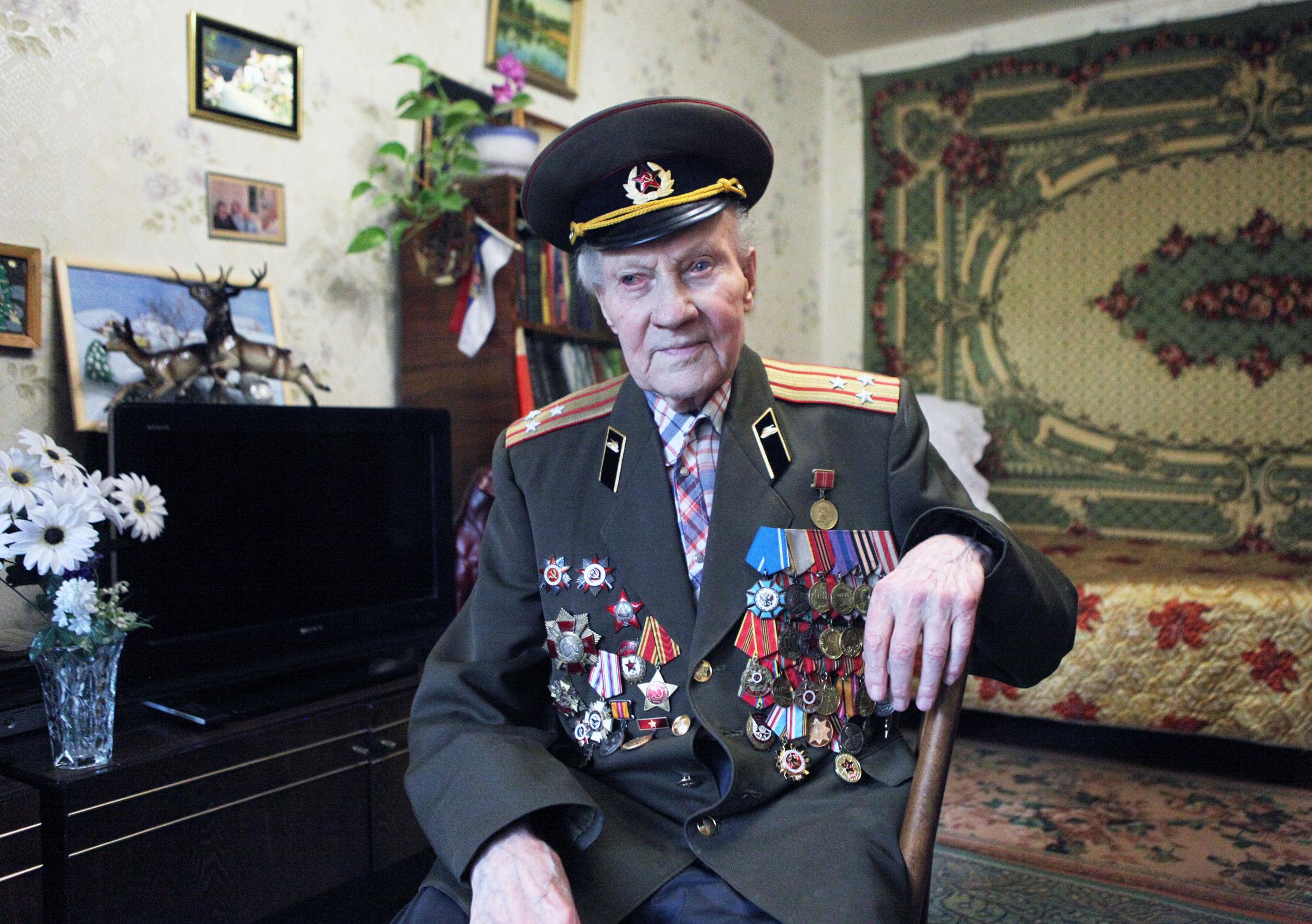 Ярославский ветеран рассказал об участии в легендарном Параде Победы на Красной площади