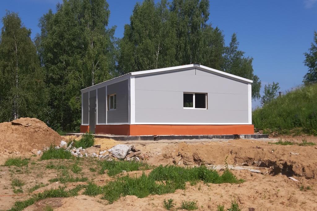 Очистные сооружения в поселках Каменники и Судоверфь планируют сдать осенью этого года