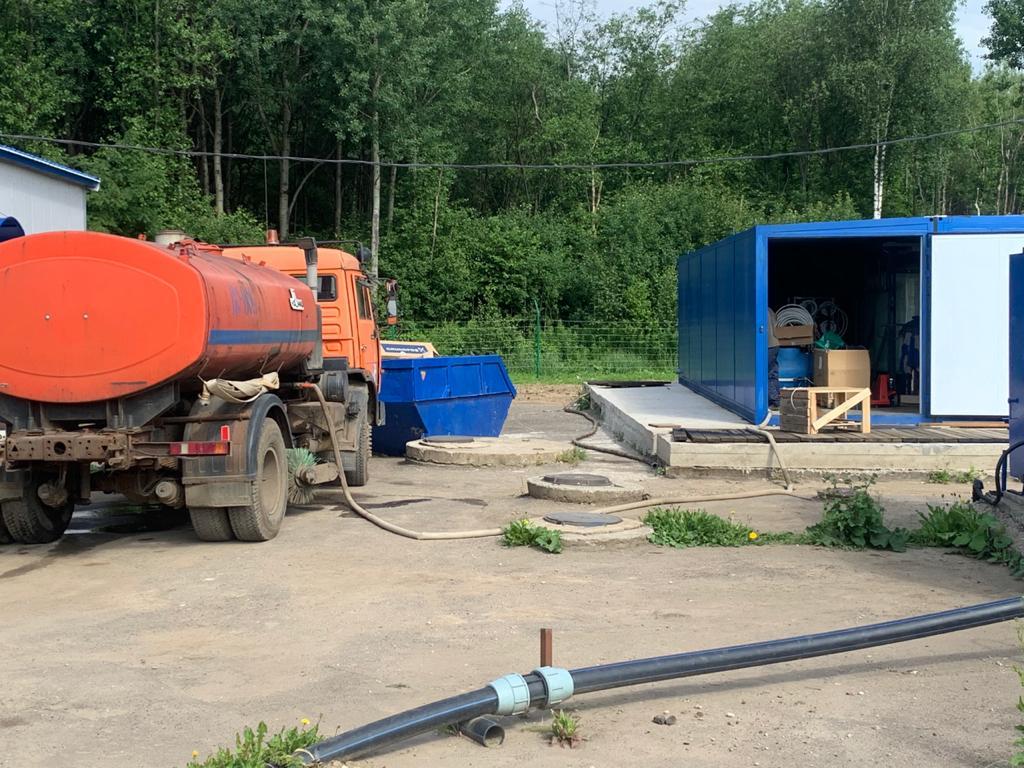 На полигоне «Скоково» завершили монтаж очистных сооружений