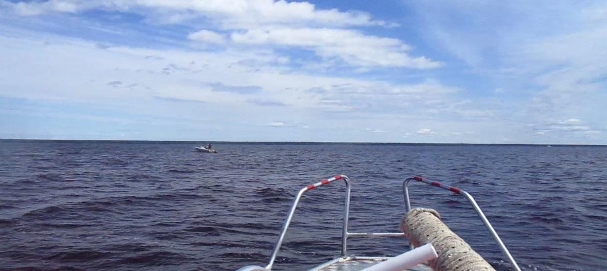 В Рыбинском районе сотрудники МЧС спасли мужчину на катере