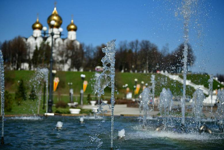 В Ярославле 1 июля начался сезон фонтанов