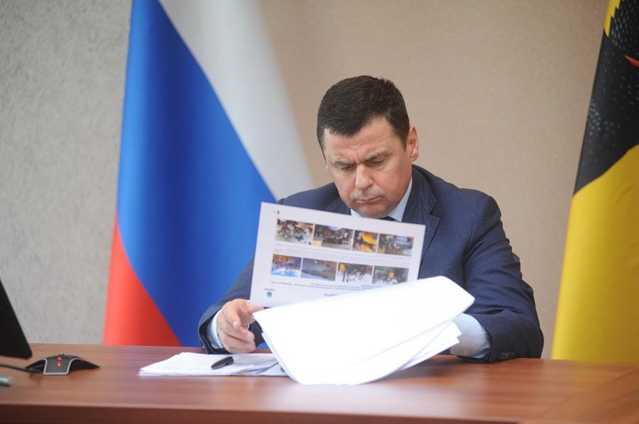 Дмитрий Миронов и Игорь Чайка обсудили строительство мусоросортировочных станций в Ярославском регионе