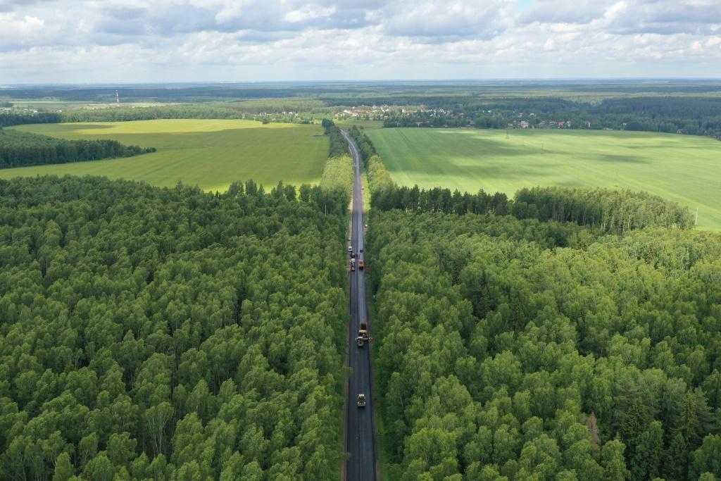 Работы на трассе Туношна – Бурмакино планируют завершить в августе