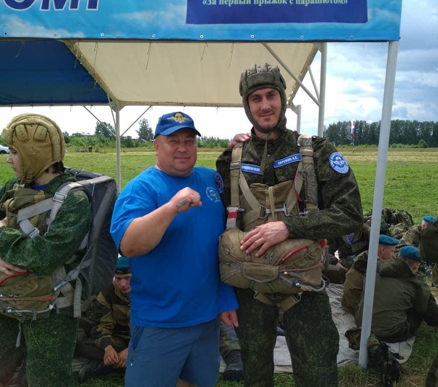 Спикер муниципалитета Ярославле прыгнул с парашютом