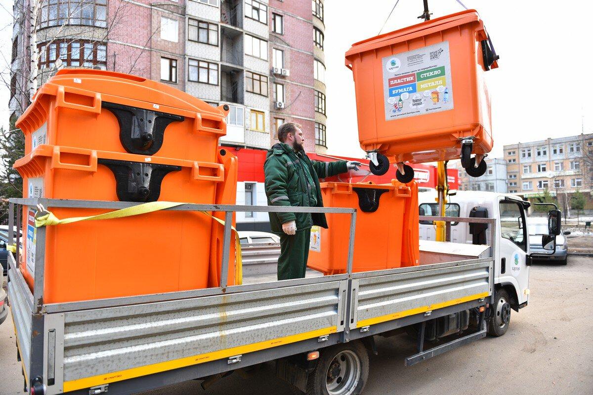 В Ярославле на мусорные баки нанесли QR-коды