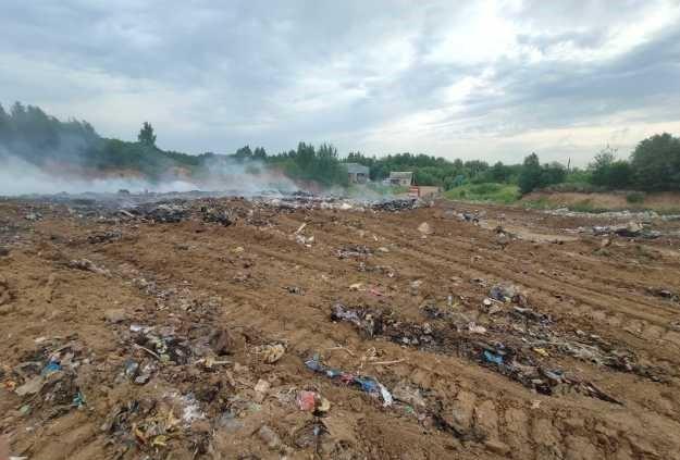 Возгорание на полигоне Гаврилов-Ямского района локализовано