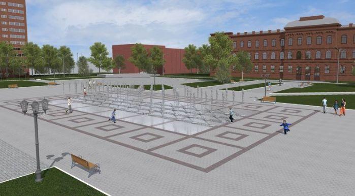 Жители Рыбинска решат, как преобразится площадь Дерунова