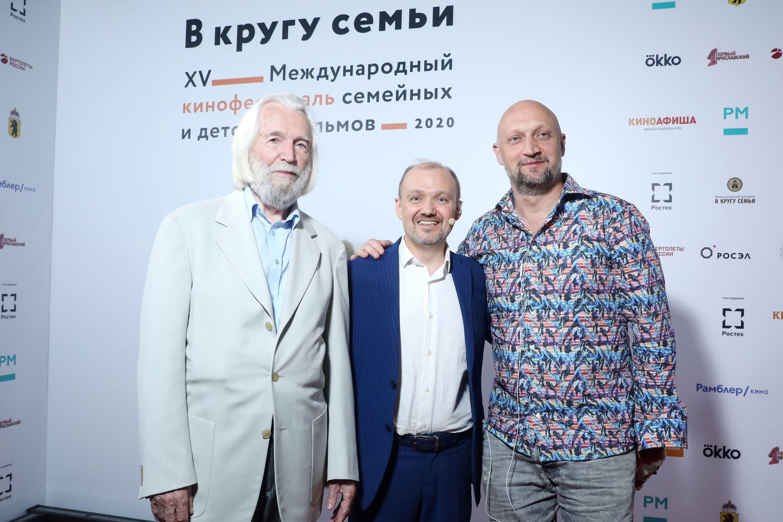 Стартовал ХV Международный кинофестиваль «В кругу семьи»