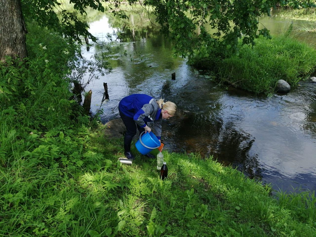 Мониторинг состояния водоемов рядом с полигоном в Угличском районе ведется на постоянной основе