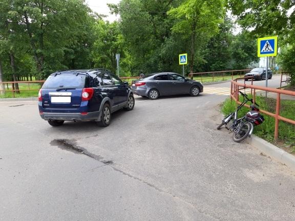 В Рыбинске водитель иномарки сбил велосипедиста