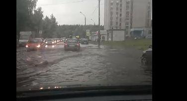 Ярославль после ливней ушел под воду: кадры