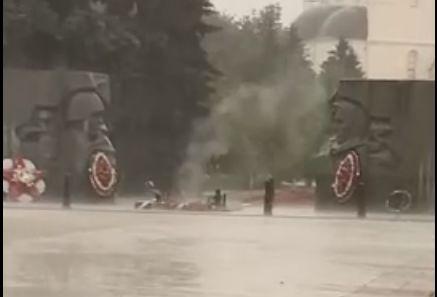 После появления в соцсетях видео о «потухшем» Вечном огне в Ярославле на место для проверки выехала аварийная бригада