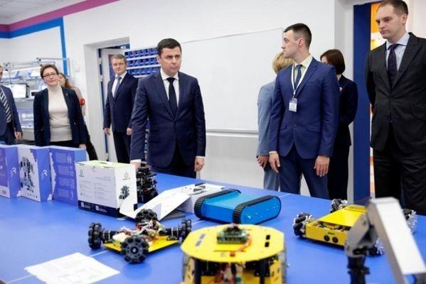 Эксперты оценили усилия Дмитрия Миронова по развитию сети Кванториумов в Ярославской области