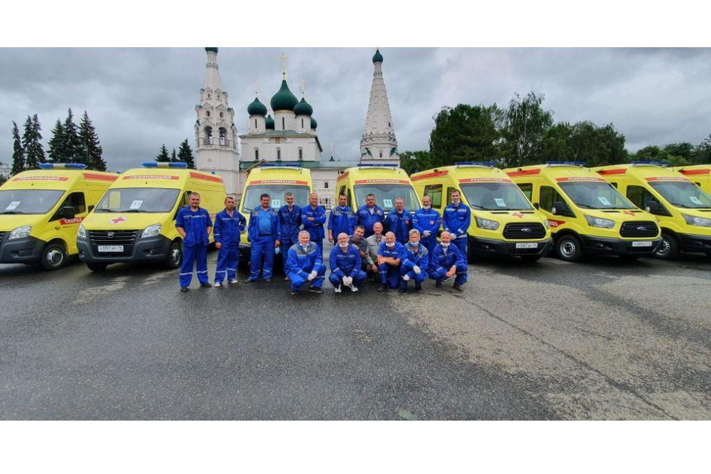 28 машин скорой помощи поступит в Ярославскую область до конца года