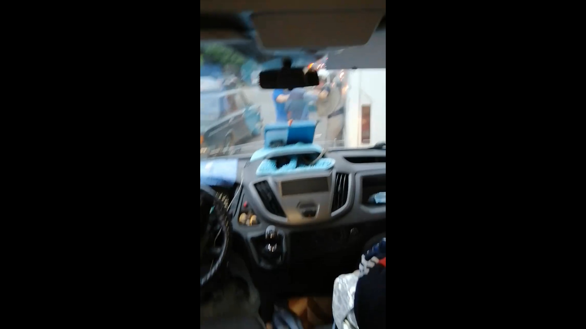 В Ярославле водители маршруток подрались из-за пассажиров