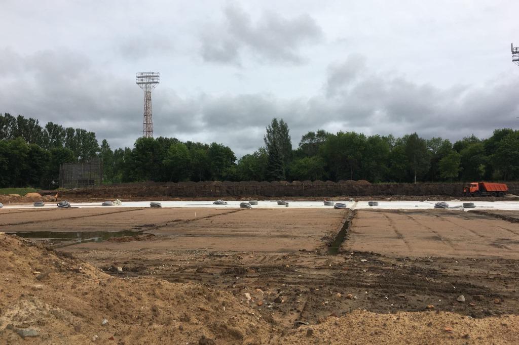 Рыбинский стадион «Сатурн» после реконструкции сможет принимать всероссийские легкоатлетические соревнования