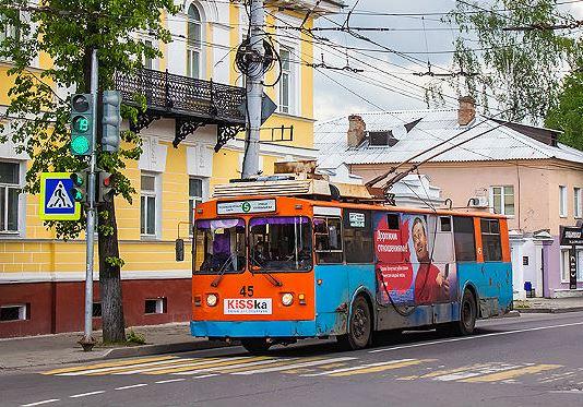 В Рыбинске сократится число рейсов пятого троллейбуса