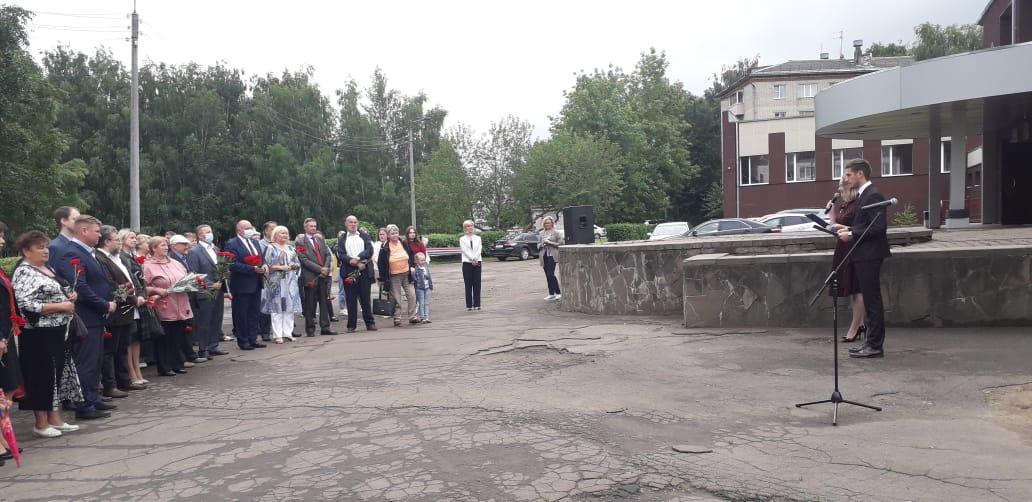 В Угличе открыли мемориальную доску общественному деятелю Вячеславу Мишустину