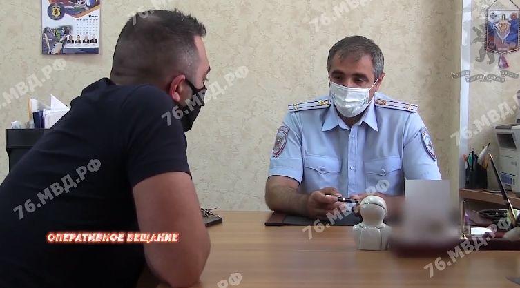 Ярославца привлекли к ответственности за съемку нападения на полицейского
