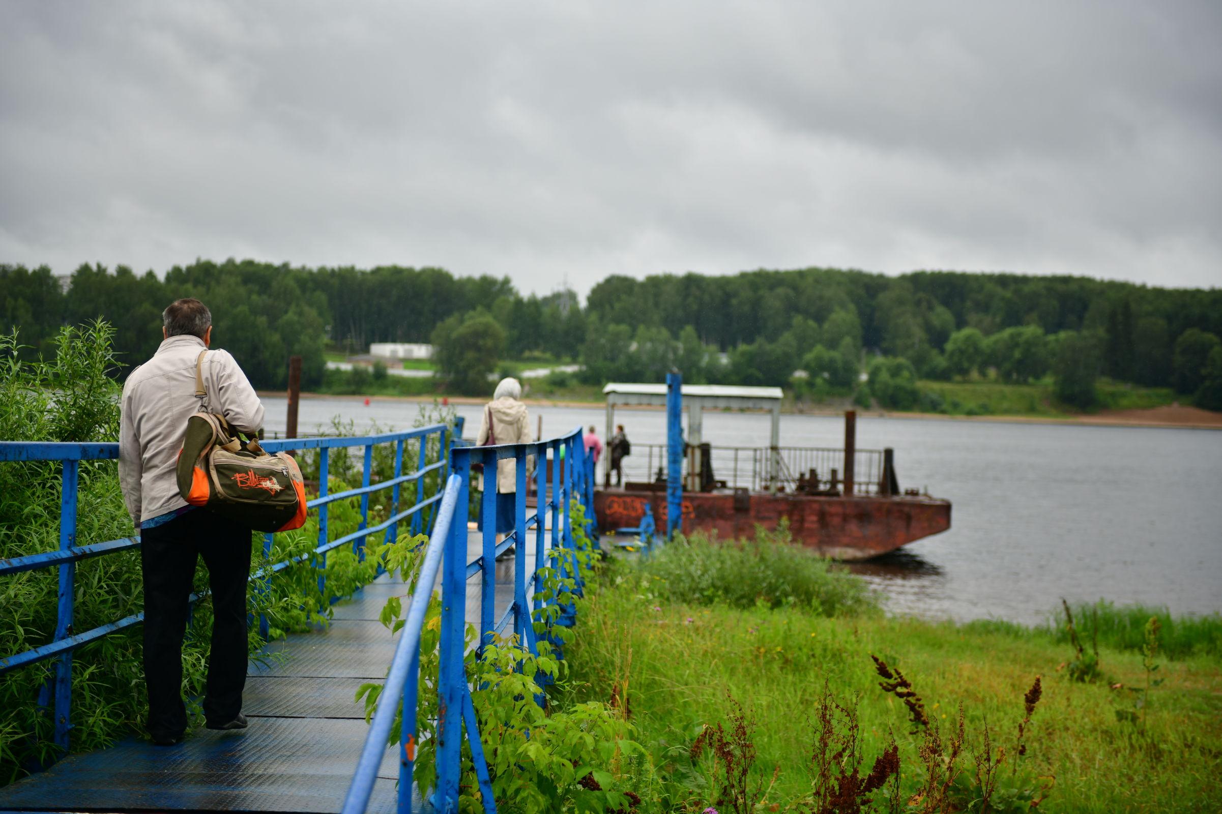 В Ярославле у Толгского монастыря восстановили причал
