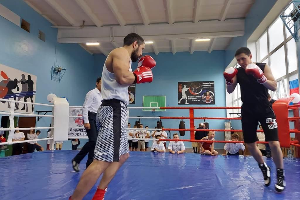 Областное мероприятие в честь Международного дня бокса прошло в поселке Ярославка