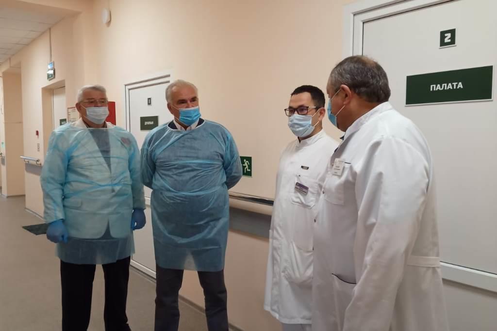 Комфортные палаты для ветеранов войн выделены в двух больницах Ярославля
