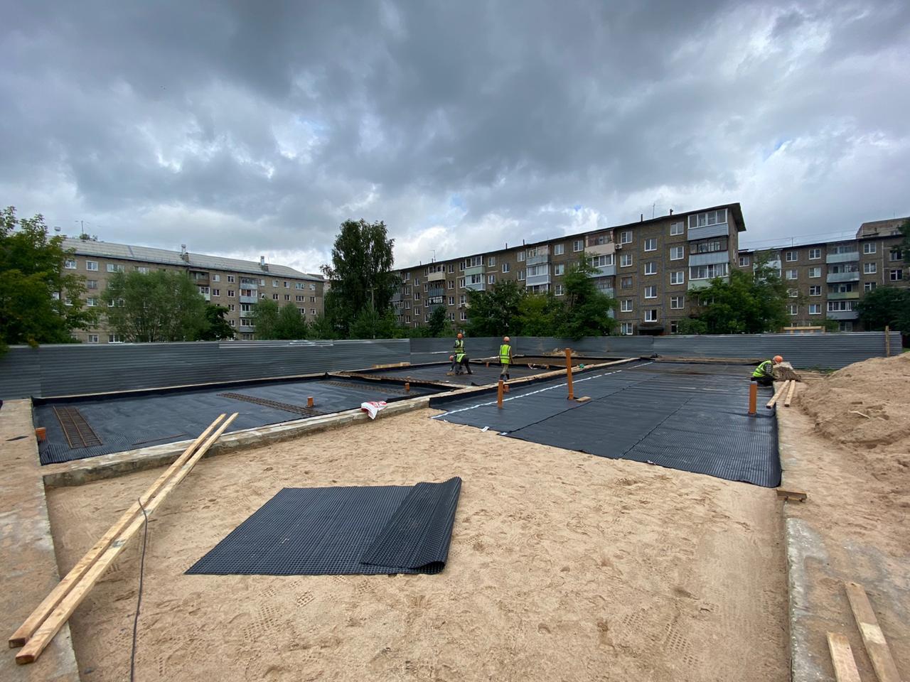 Четыре здания яслей и детский сад строят в Рыбинске в рамках нацпроектов