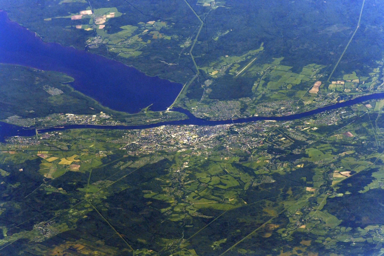 «Продолжаем путешествие по Ярославской области»: известный космонавт прислал фото Рыбинска с МКС