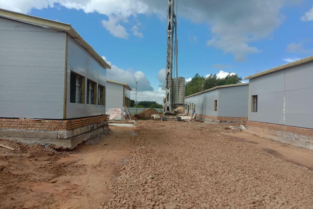 Очистные сооружения в поселке Красный Профинтерн построят до конца года