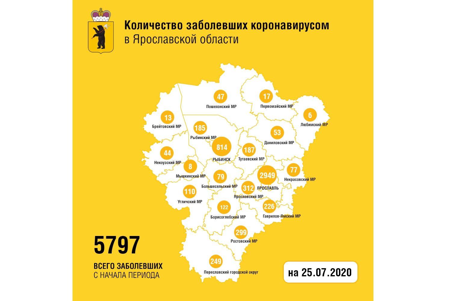 В Ярославской области от коронавируса вылечили еще 35 человек