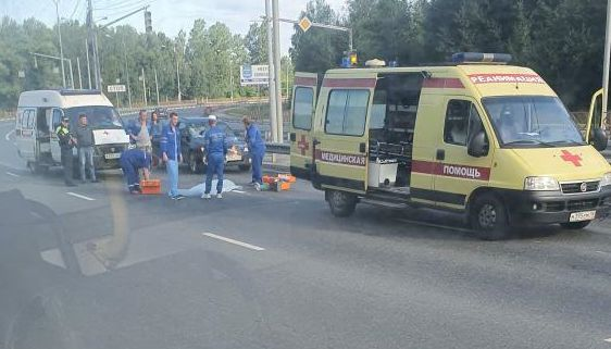 На проспекте в Ярославле иномарка насмерть сбила пешехода