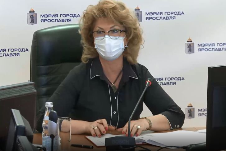 Елена Новик заняла место мэра Ярославля на общегородской планерке