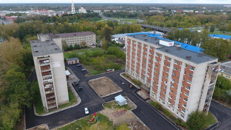 В Рыбинске в следующем году благоустроят десять дворов