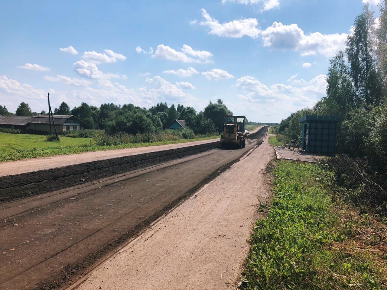 Дмитрий Миронов сообщил о начале ремонта дороги, соединяющей Углич и Переславль
