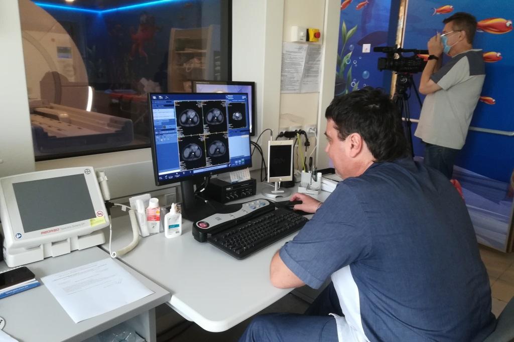Новый наркозный аппарат позволит использовать магнитно-резонансный томограф для обследования детей с рождения