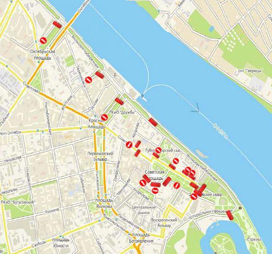 В Ярославле 2 августа перекроют центральные улицы
