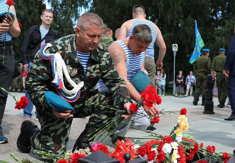 В Ярославской области отметили 90-летие со дня образования ВДВ