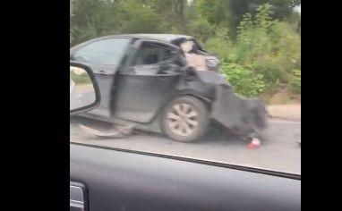 В Ярославле в тройном ДТП с фурой пострадала женщина