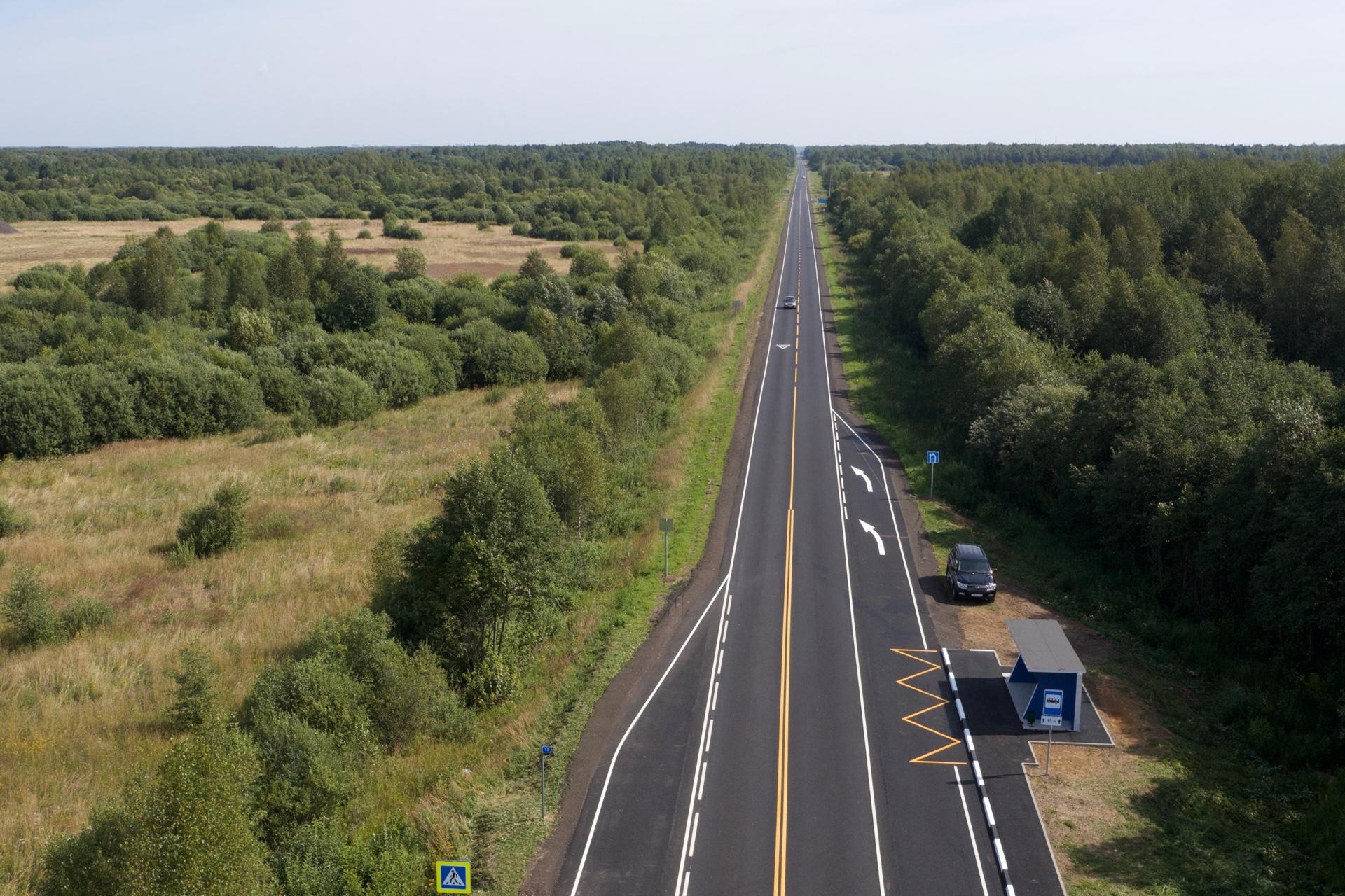 Дорогу Карачиха – Ширинье в Ярославской области отремонтировали раньше срока