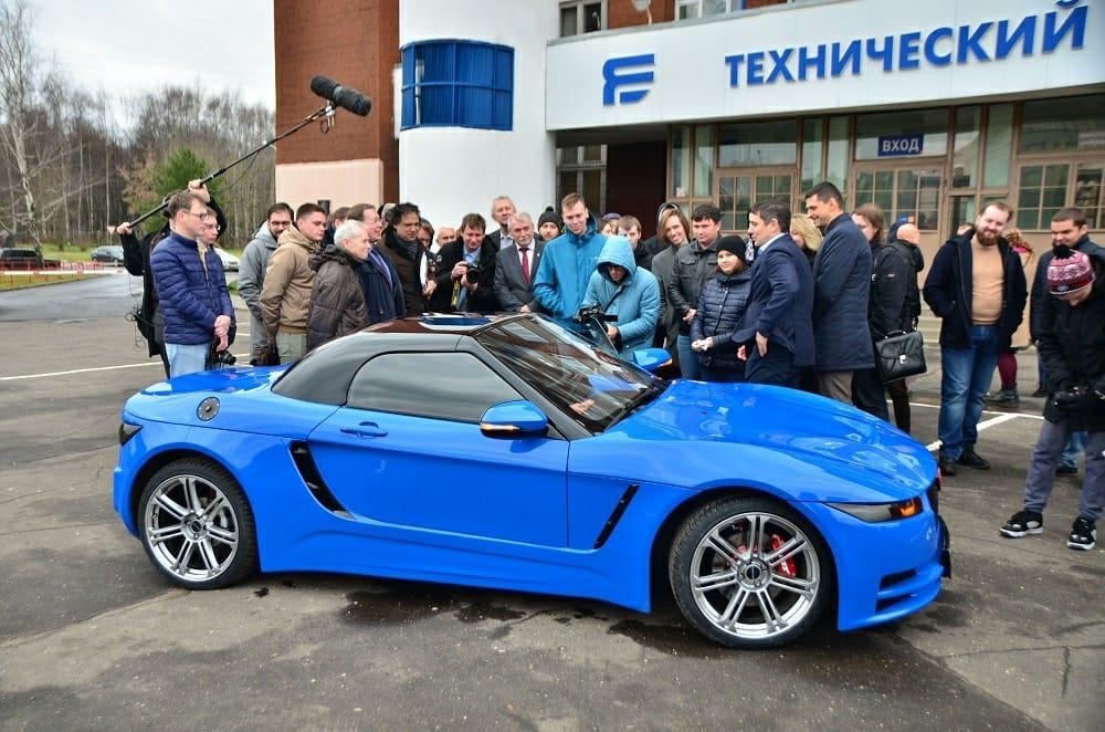 Ярославские студенты разрабатывают новый спорткар
