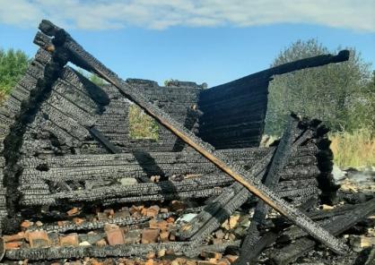 В Ярославской области на пожаре погибла 87-летняя пенсионерка